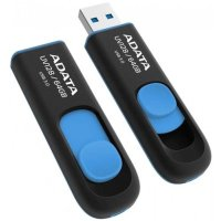 A-Data 64GB UV128 Black-Blue