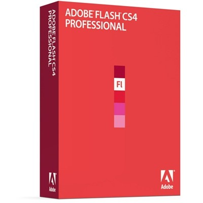 Adobe Flash Professional CS4 10 Retail Russian Windows 65018674
