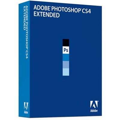 Adobe Photoshop Extended CS4 11 Retail Russian Windows 65015507