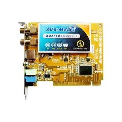 AVerMedia PCI FM ПДУ AVerTV Studio Model 707 Retail