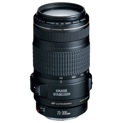 Canon EF 70-300mm f/4-5.6 IS USM 0345B006