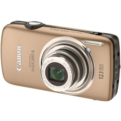 Canon IXUS 200 IS Brown