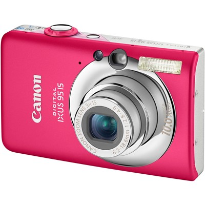 Canon IXUS 95IS Pink