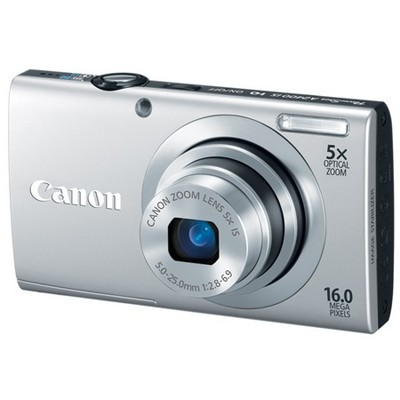 Canon PowerShot A2400 IS Silver