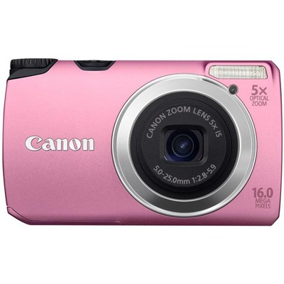 Canon PowerShot A3300 IS Pink