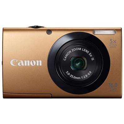 Canon PowerShot A3400 IS Gold