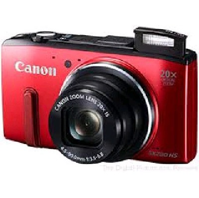 Canon PowerShot SX280 HS Red