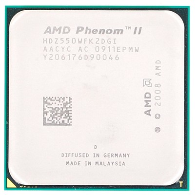 CPU Socket AM3 AMD Phenom II X2 560 OEM