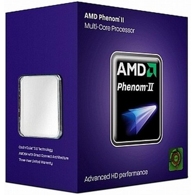 CPU Socket AM3 AMD Phenom II X4 850 BOX