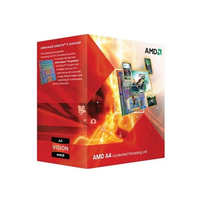 CPU Socket FM-1 AMD A8 X4 3850 BOX