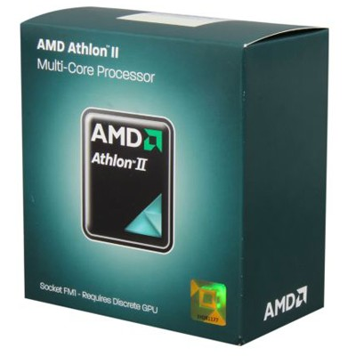 CPU Socket FM1 AMD Athlon II X4 651 BOX