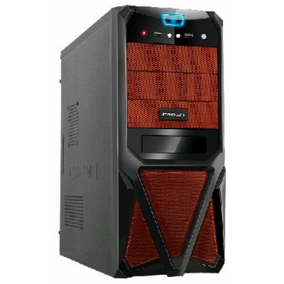 Crown CMC-SM161 black/orange 400W