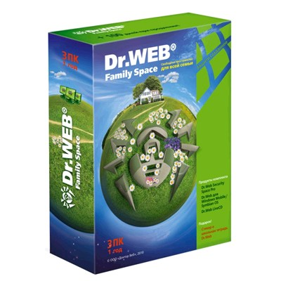 Dr. Web Family Space BFW-W12-0003-1
