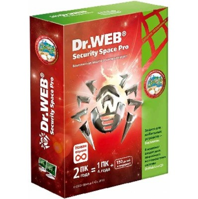 Dr. Web Security Space Pro AHW-B-12M-2-A2