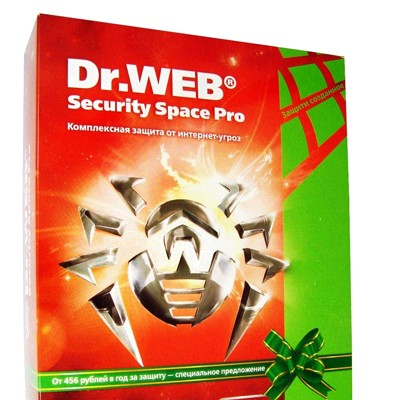 Dr. Web Security Space PRO BFW-W24-0002-1-6