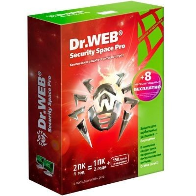 Dr. Web Security Space Pro BHW-B-12M-2A3-1