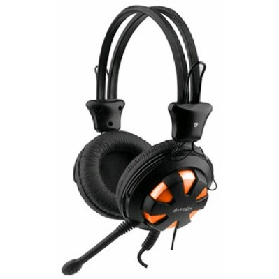 Гарнитура A4Tech HS-28-3 Orange/Black