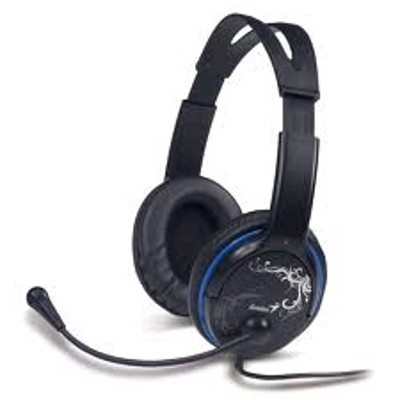 Гарнитура Genius HS-400A Black/Blue