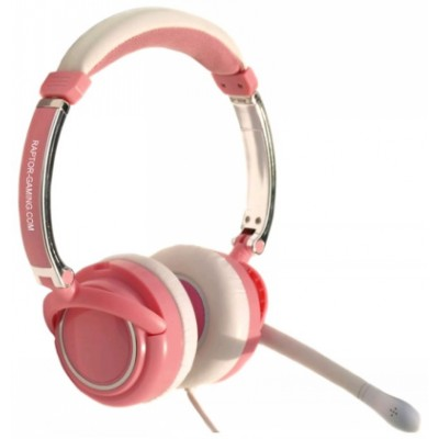 Гарнитура Raptor Gaming LH2 pink Ladies Edition