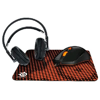 Гарнитура SteelSeries Siberia v2 Heat Orange & Sensei