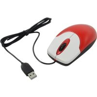 Genius NetScroll 120 V2 USB Red
