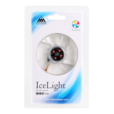 GlacialTech GS8025-B IceLight LED CF-8025GSD0IC0001