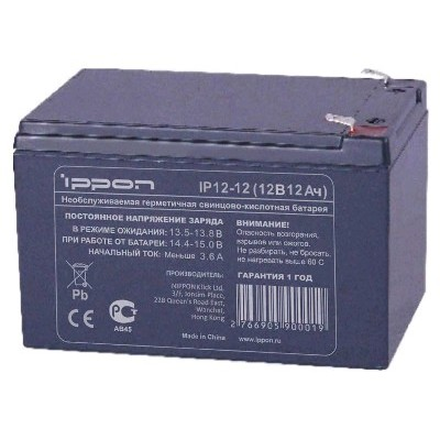 Ippon IP12-12 12V/12AH