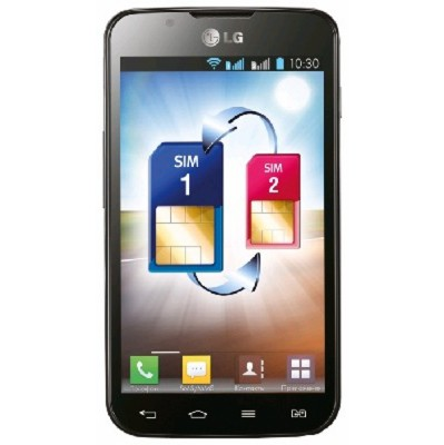 LG Optimus L7 P715 Black/Blue