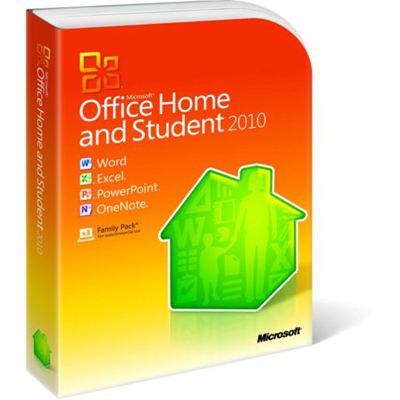 Microsoft Office Home and Student 2010 79G-02142