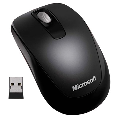 Microsoft Wireless Mobile Mouse 1000 for business Black