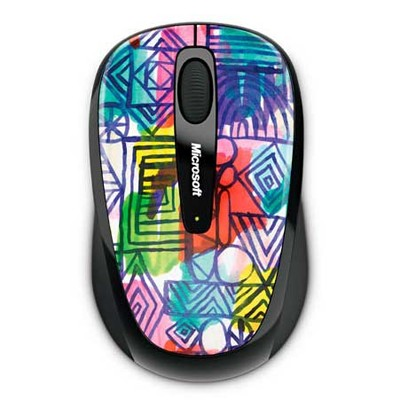 Microsoft Wireless Mobile Mouse 3500 Artist Perry 2