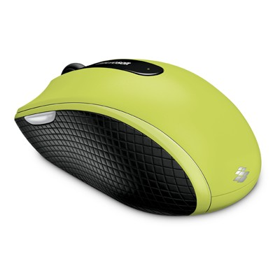 Microsoft Wireless Mobile Mouse 4000 Green