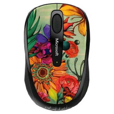 Microsoft Wireless Mouse 3500 Artist Olo