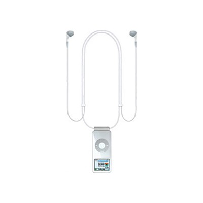 Наушники Apple iPod nano Lanyard Headphones MA597