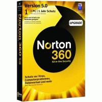 Norton 360 5.0 Russian 1 User 3Licence 12MO 1C DRM KEY FTP 21217577