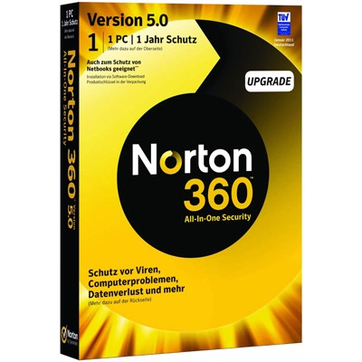 Norton 360 5.0 Russian 1 User 3Licence MM 21214709