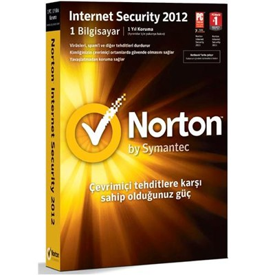Norton Internet Security 2012 Russian 1 User 3Licence 12MO 1C DRM KEY SY21217573