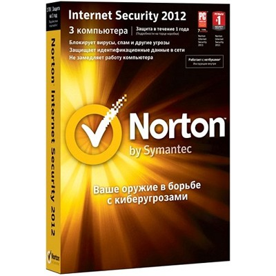 Norton Internet Security 2012 Russian 1 User 3Licence MM 21214740