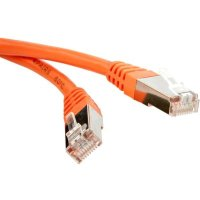 Патч-корд Hyperline PC-LPM-STP-RJ45-RJ45-C6-15M-OR