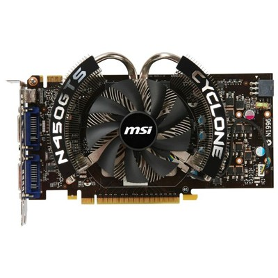 PCI-Ex 1024Mb MSI N450GTS CYCLONE 1GD5