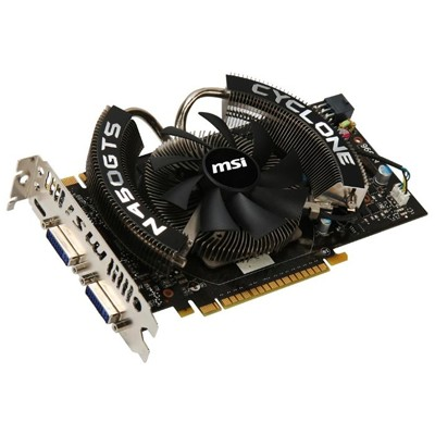 PCI-Ex 1024Mb MSI N450GTS CYCLONE 1GD5/OC