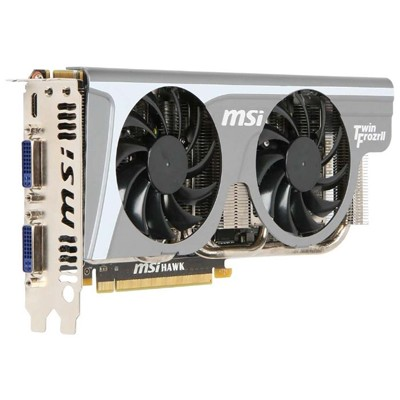 PCI-Ex 1024Mb MSI N460GTX HAWK TAL