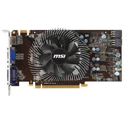 PCI-Ex 1024Mb MSI N460GTX-MD1GD5/OC