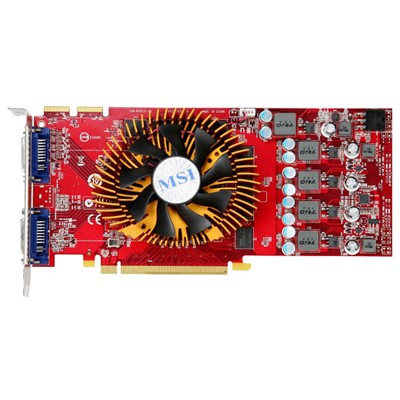 PCI-Ex 1024Mb MSI R4850-2D1G