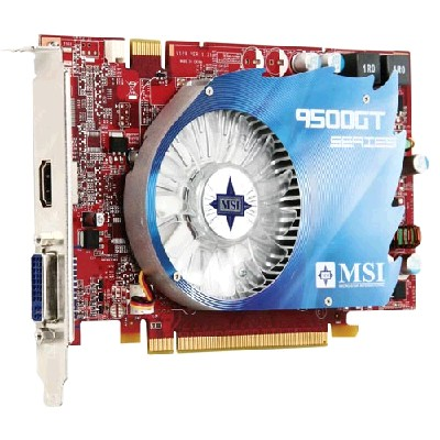 PCI-Ex 512Mb MSI N9500GT-MD512/D3