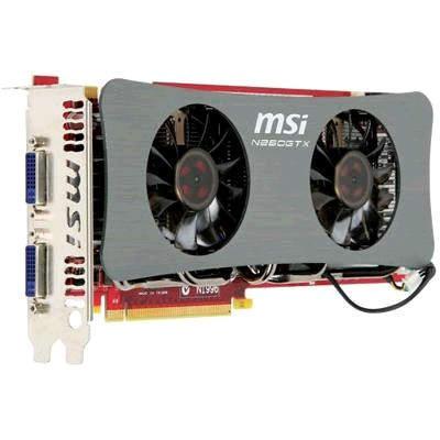 PCI-Ex 896Mb MSI N260GTX-Twin Frozr