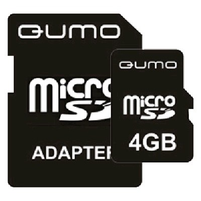 Qumo 4GB Micro Secure Digital QM4GMICSD