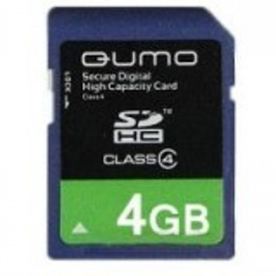 Qumo 4GB Secure Digital QM4GSDHC4