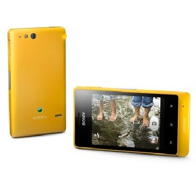 Sony Xperia Go Yellow