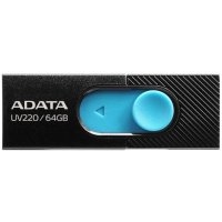 A-Data 64GB UV220 Black-Blue